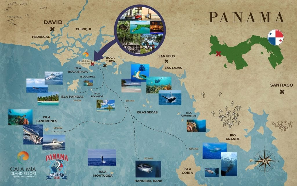 Cala Mia Map